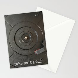 take me back Stationery Cards