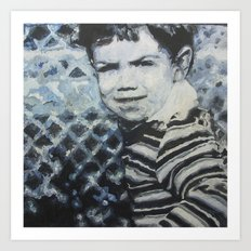 Blue Thomas Art Print
