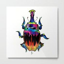 Minnesota Bug Metal Print
