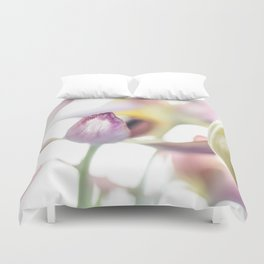 Tulips - A Lighter Shade Of Spring Duvet Cover