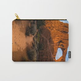 Path To Skyline Arch At Sunset - Moab, Utah Carry-All Pouch