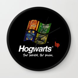 Harry Potter - OS Hogwarts Wall Clock