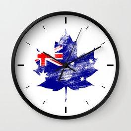Australia/Canada Wall Clock