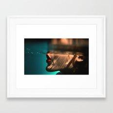 Somn Kiss Framed Art Print