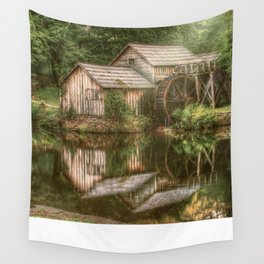 Mill on The Blue Ridge  Wall Tapestry