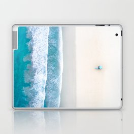 California Beach Aerial View Laptop & iPad Skin