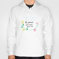 motivational Hoodies featuring Motivational thoughts by Saskdraws