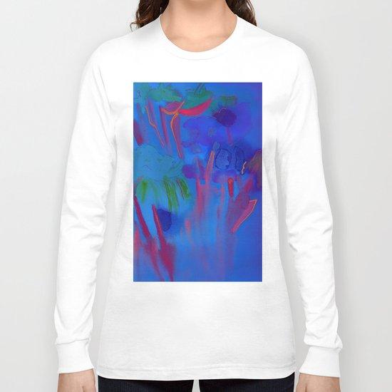 Night Flowers Long Sleeve T-shirt