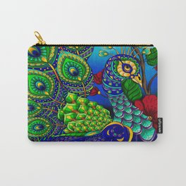 Peacock ZIA Carry-All Pouch