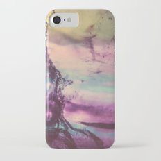 Purple Fluorite from our Earth Slim Case iPhone 7