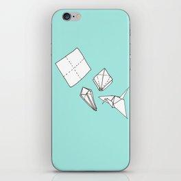 Oragmi Paper Crane iPhone Skin
