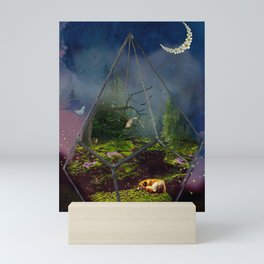 Sleeping Fox Mini Art Print