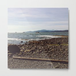 Tide Out Metal Print