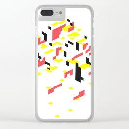 The robe Clear iPhone Case