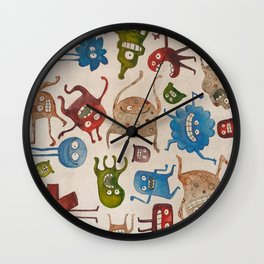 Critters Wall Clock