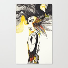 Feather Dream Canvas Print