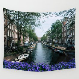 Charming Amsterdam Wall Tapestry