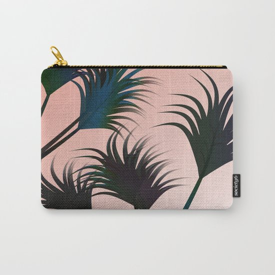 Palm Fronds Carry-All Pouch