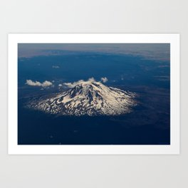 Pacific_Northwest Aerial View III Art Print