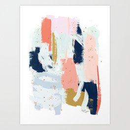 Beneath the Surface 2 Art Print