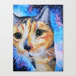 Snickers in Space Canvas Print