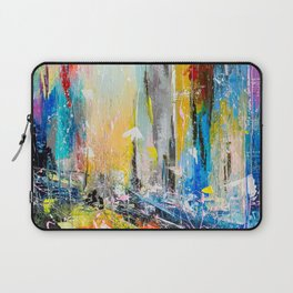 Abstract cityscape 6 Laptop Sleeve