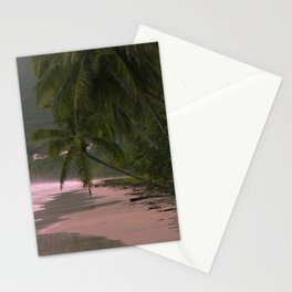 Morning Light on Tropical Coast Stationery Cards