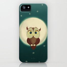 Owl by night iPhone Case