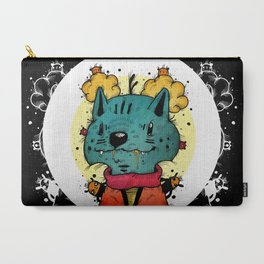 Wolfy (Color Version) Carry-All Pouch