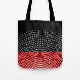 Geometric Rings Tote Bag
