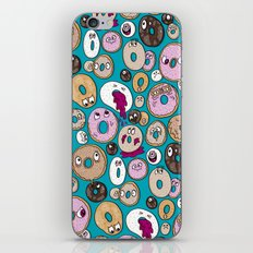 Donut Pattern iPhone Skin