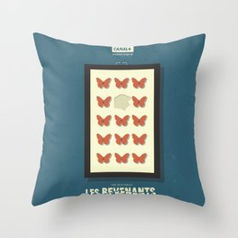 Les Revenants, french movie poster, Canal + tv series, the returned Throw Pillow