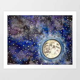 Nightsky Art Print