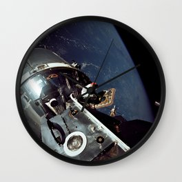 Apollo 9 - Spacewalk Wall Clock