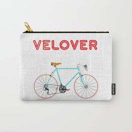 VeLover - Girl – June 12th – 200th Birthday of the Bicycle Carry-All Pouch