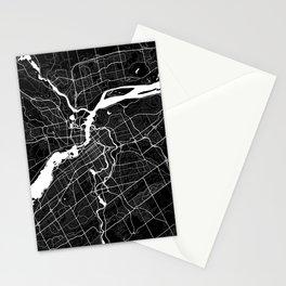 Ottawa - Minimalist City Map Stationery Cards