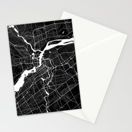 Ottawa - Minimalist City Map Stationery Cards