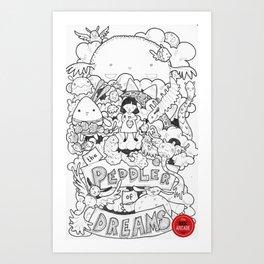 The Peddler Of Dreams Art Print