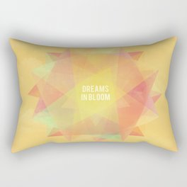 Dreams in bloom Rectangular Pillow
