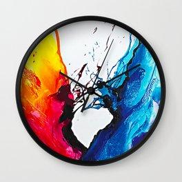 Abstract Art Britto - QB292 Art Print Wall Clock