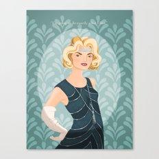 Lady Rose Canvas Print
