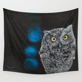 Tuula the Screech Owl by Teresa Thompson Wall Tapestry