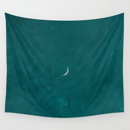 Moonlight by the Sea | Photoshop edit Wall Tapestry