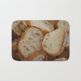 Artisan Bread Slices Bath Mat
