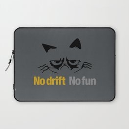 No drift No fun v1 HQvector Laptop Sleeve