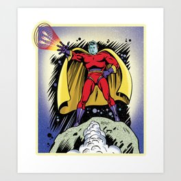 Star Man from Planet Nexus Art Print