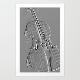 cello Art Print