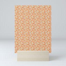 Watercolor tangerines Mini Art Print