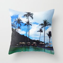 Thinking Dreamy Things Throw Pillow