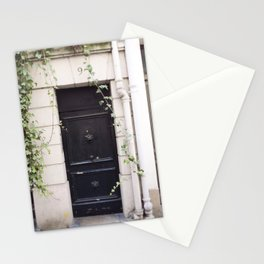The Black Door at No. 9 Stationery Cards